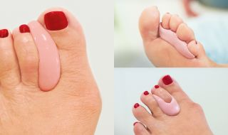 With toe orthotics, Per Piedi can relieve pain instantly.